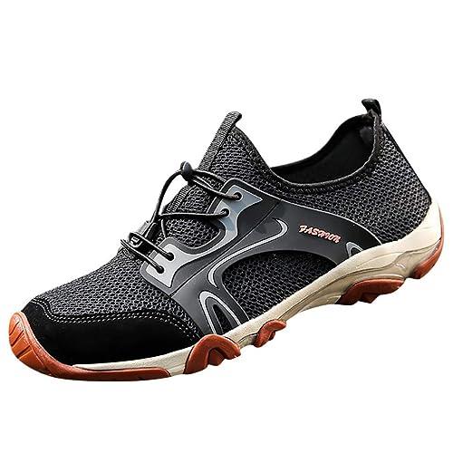 de819b8c786c1 Amazon.com | Mosunx Athletic Men's Mesh Breathable Sneaker, Teen ...