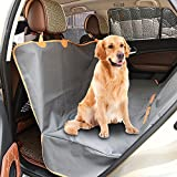 Petacc Portable Dog Cushion Large Pet Seat Cover Practical Pet Rear Seat Mat with Safety Belt Buckle, Suitable for Protecting Cars For Sale
