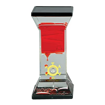 Single Wheel Drop Liquid Motion Desk Toy- Colors Assorted