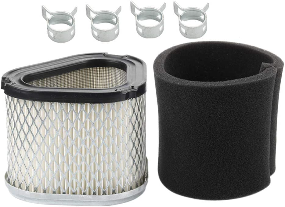 12 083 10-S 12 083 16 Air Filter + 12 083 12-S Pre-Filter for Kohler Command Pro 12-083-10-S 12 083 10 Engines GY20661 M145944 023497 Lawn Mower