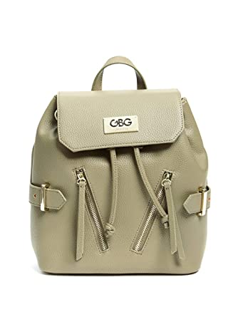 435f9bd492 Amazon.com  G by GUESS Women s Logo Flap-Top Backpack  Clothing
