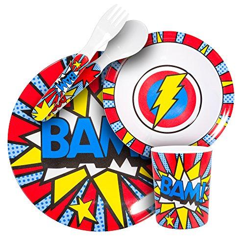 BooginHead tableware piece Super BAM Blue