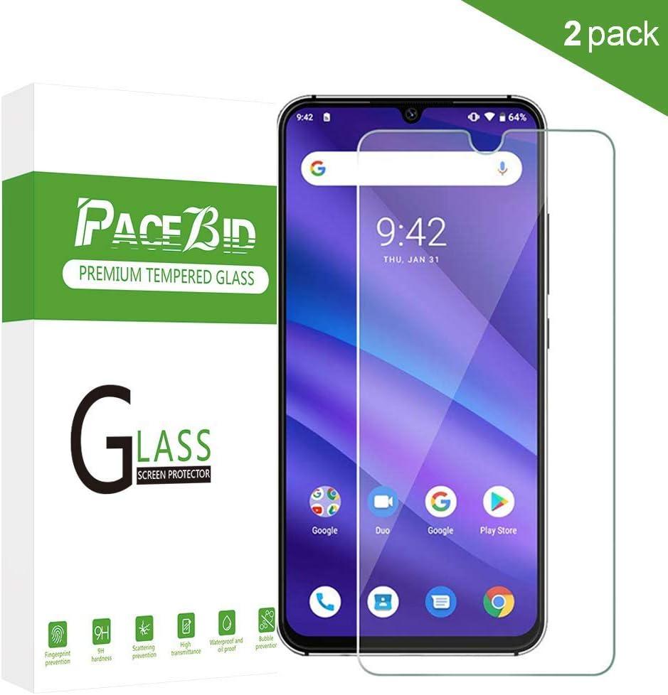 PaceBid [2 Pack Protector de Pantalla UMIDIGI A5 Pro, [Dureza 9H ...