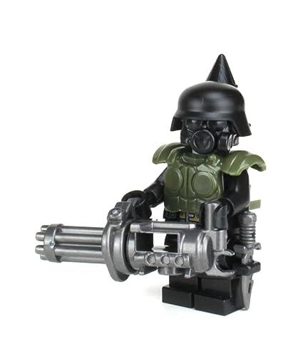 Battle Brick Post Apocalyptic Gunner (SKU74) Custom Minifigure