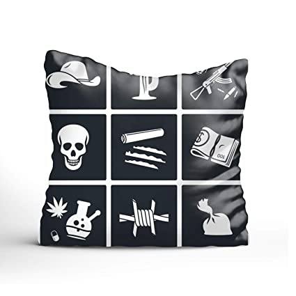 Amazon.com: YooSoeLink Personality Throw Polyester Pillow ...