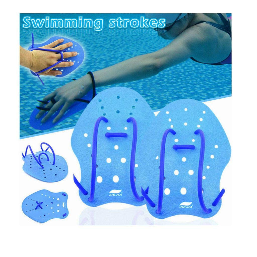 Exercise Gloves Palm Paddle Swim Training Paddles for Kids and Adults Kecar Swimming Palm Paddles S//M//L Professional Short Swimming Hand Paddles