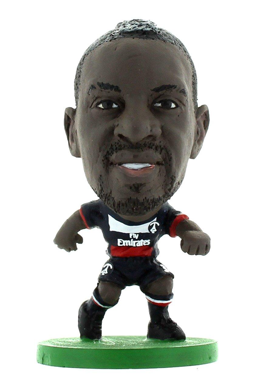 Officiellement Autoris/é De Mamadou Sakho Dans Le Maillot Officiel Du Paris St Germain 400057 SOCCERSTARZ Figurine Sport