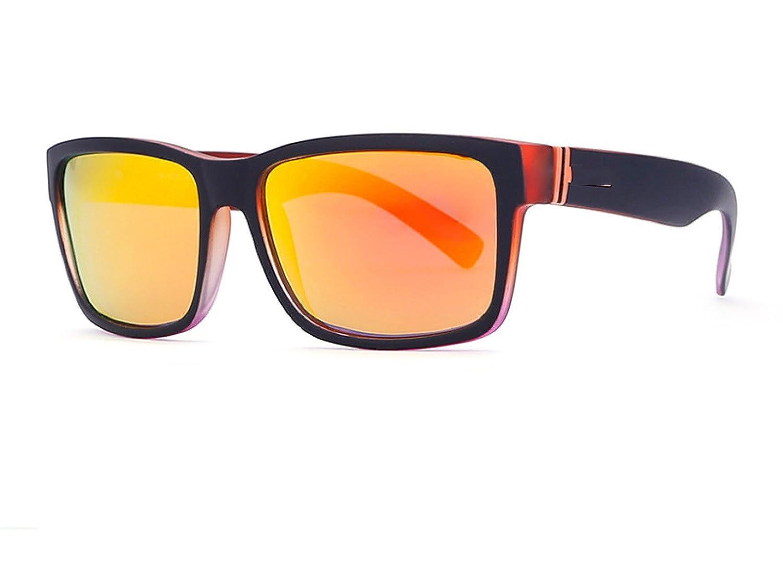 LQABW Las Nuevas Gafas De Sol Deportivas Para Hombres Protección UV Luz Polarizada Ciclismo Caza Tiro Senderismo Pesca Y Otras Gafas Ideales.,Yellow: ...