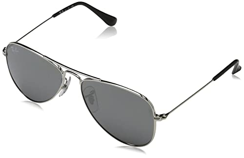 Ray-Ban Gafas de sol Aviator Junior Negro, 50