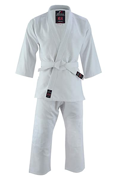 Malino Student Judo Gi - Traje de Uniforme de Peso Medio con ...