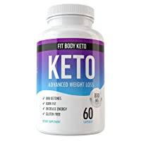 Fit Body Keto Diet Weight Loss Supplement for Men and Women - Advanced Weight Loss...