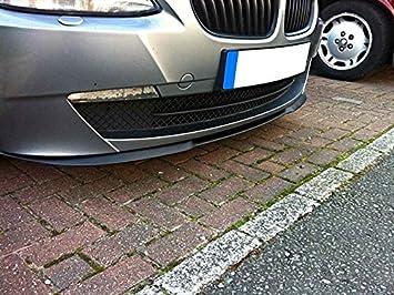 Cup Front Spoiler Lippe Schürze Ansatz Abs Lackierbar Schwarz Auto