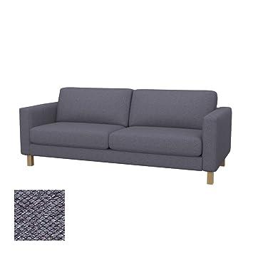 Amazonde Soferia Bezug Fur Ikea Karlstad 3er Sofa Nordic Anthracite