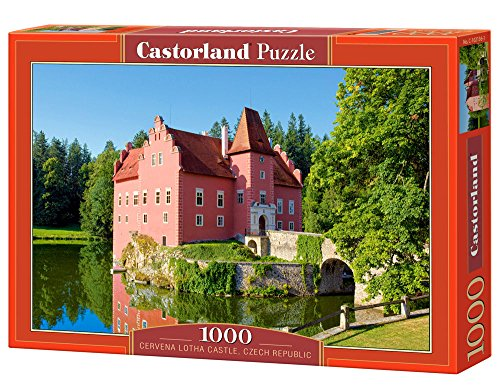 New Cervena Lotha Castle, Czech Republic, 1000 Piece By Castorland Puzzles
