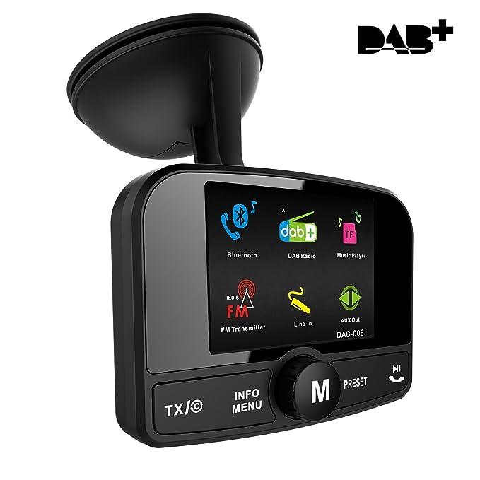 3 opinioni per FirstE Auto Dab+ Radio Adattatore Sintonizzatore, Portatile Dab Audio Radio
