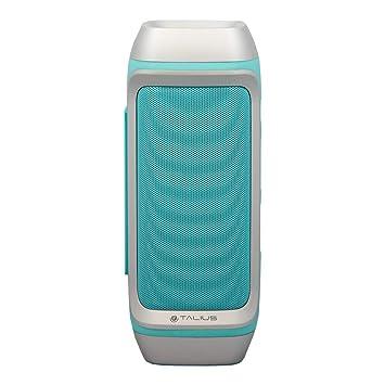 Talius 28BT - Altavoz Bluetooth 3.0, Tarjeta SD, Manos Libres, 10W, Color Azul