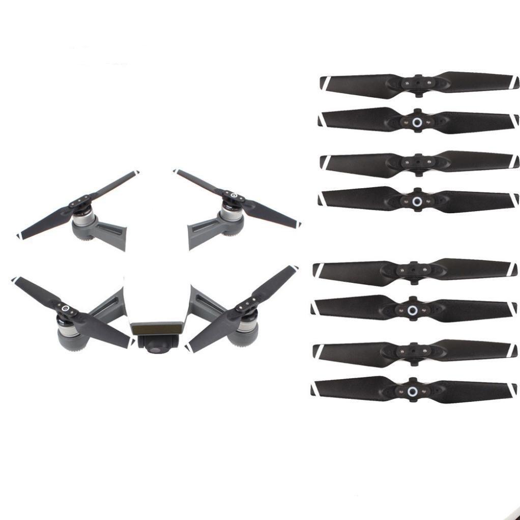 Sannysis (4CW + 4 CCW) para dji, 8pcs Hélice para DJI Spark Drone ...