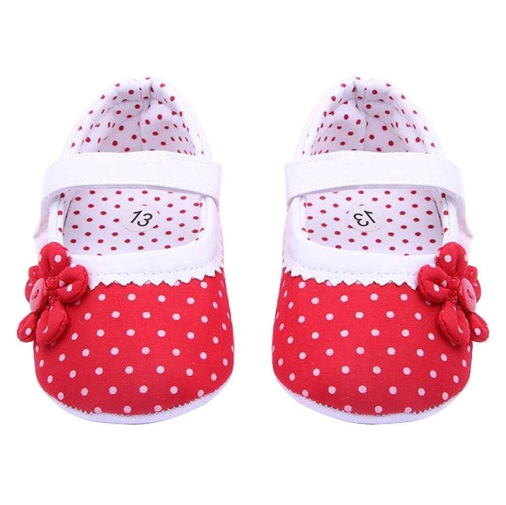 WARMSHOP Spring Summer Princess Girls Shoes Soft Sole Crib Shoes