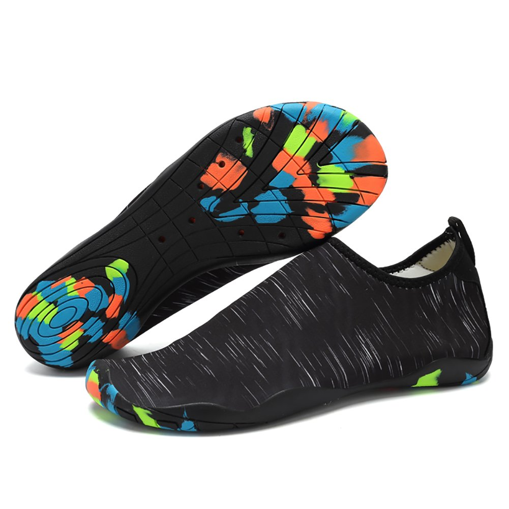VentoMarea Men Women Water Shoes Barefoot Beach Pool Shoes Quick Dry Aqua Yoga Socks for Surf Yoga Water Aerobics