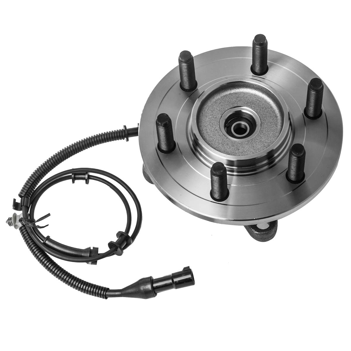 6 Lug W//ABS 4WD 4x4 Front Wheel Hub and Bearing Assembly Left or Right Compatible Ford F-150 AUQDD 515046