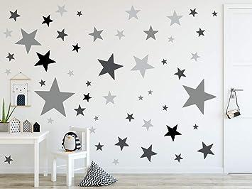 Timalo 120 Stuck Wandtattoo Kinderzimmer Xl Sterne Pastell Wandsticker Aufkleber 73079 Set22 120 Amazon De Baumarkt