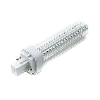 bombilla LED G24 13 W lámpara bajo consumo PLC luz difusa – Luz Blanco Natural W