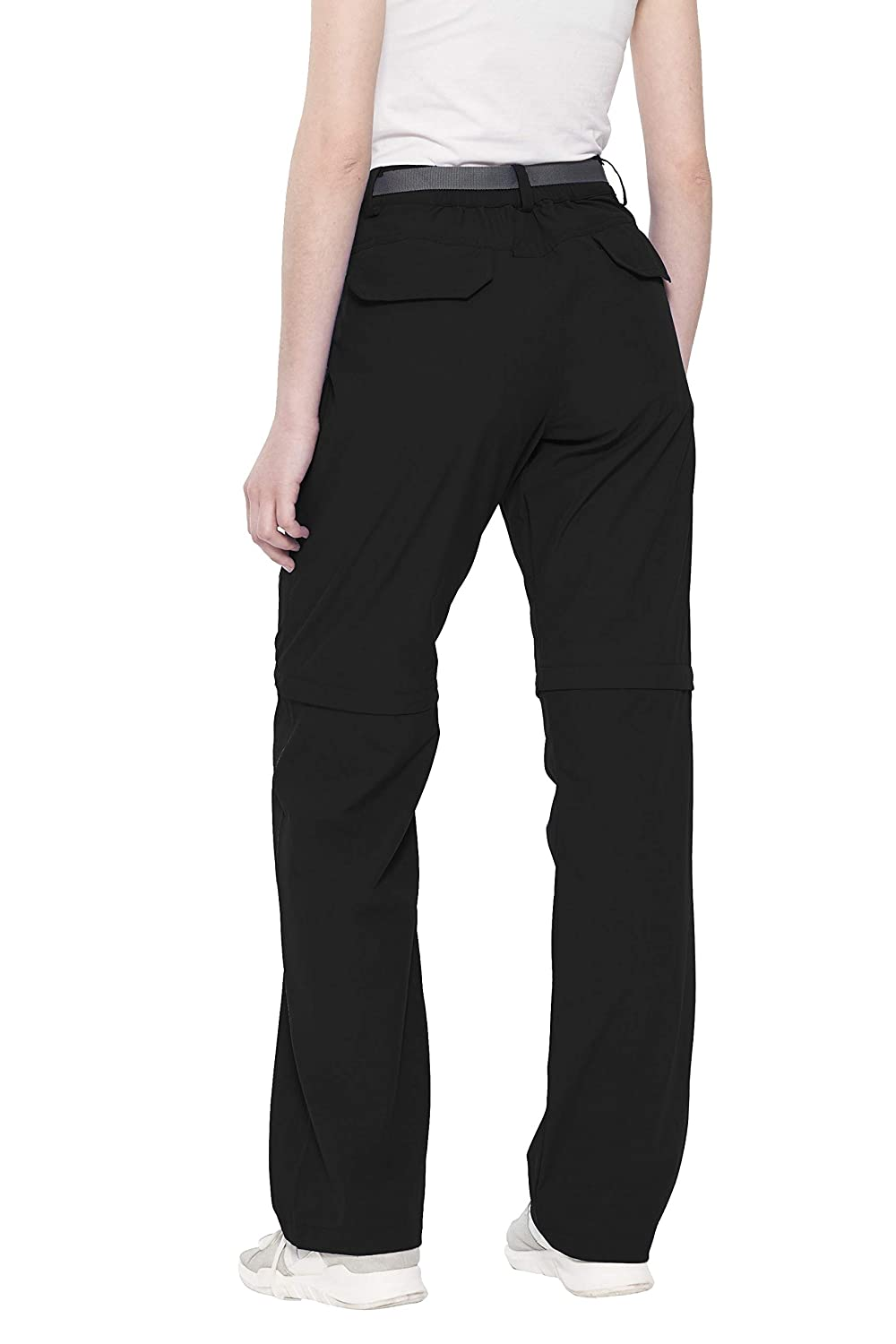 812101b5a824 Amazon.com   Little Donkey Andy Women s Stretch Convertible Pants Zip-Off Quick  Dry Hiking Pants   Sports   Outdoors