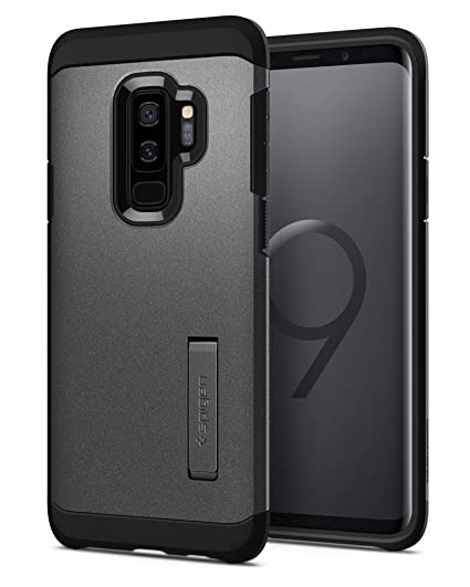size 40 a7e5c 8cb1a Spigen Tough Armor Galaxy S9 Plus Case with Reinforced Kickstand and Heavy  Duty Protection and Air Cushion Technology for Samsung Galaxy S9 Plus ...