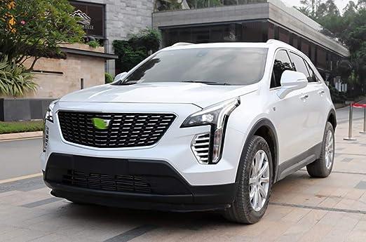 HIGH FLYING ABS Chrome Front Fog Light Lamp Decor Trim for Cadillac XT4 2018 2019 2020
