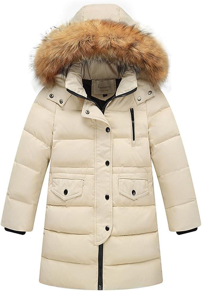 LSERVER Daunenjacke Kinder Winterjacke mit Kaputze Daunenmantel mädchen Junge Baby Verdickte Winterjacke