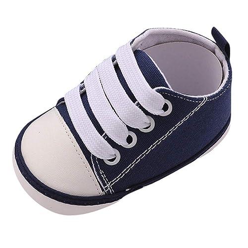 Mitlfuny Niños Niñas Invierno Zapatos de Lona para Bebé de Que Corazon Imprimiendo Recién Nacido Primeros