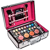 SHANY Carry All Makeup Train Case with Pro Makeup