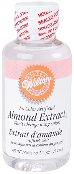 Amazon.com : Wilton(R) No-Color Almond Extract : Natural Flavoring Extracts : Grocery & Gourmet Food