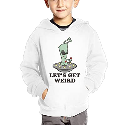 Alien Space Baby Boy Children's Lightweight Pullover Hoodies Funny Hooded Sweatshirts With Pockets