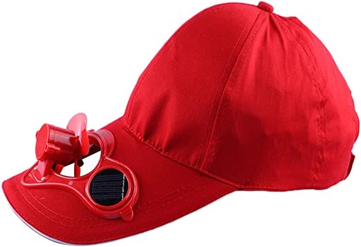 JOYKK Gorra de béisbol Ventilador de enfriamiento con energía ...