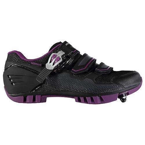 Muddyfox Mujer MTB200 Cycling Shoes Negro/Morado 41: Amazon.es: Zapatos y complementos