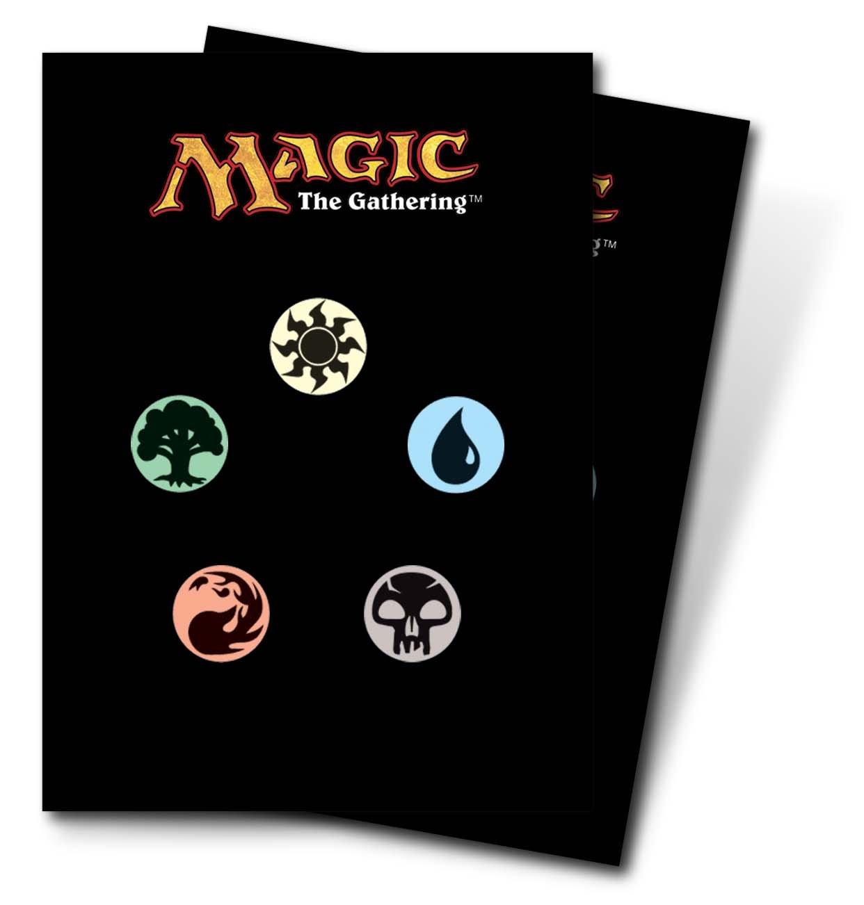 Amazon utra pro the magic the gathering mtg mana symbols amazon utra pro the magic the gathering mtg mana symbols back deck protectors 80 sleeves toys games biocorpaavc