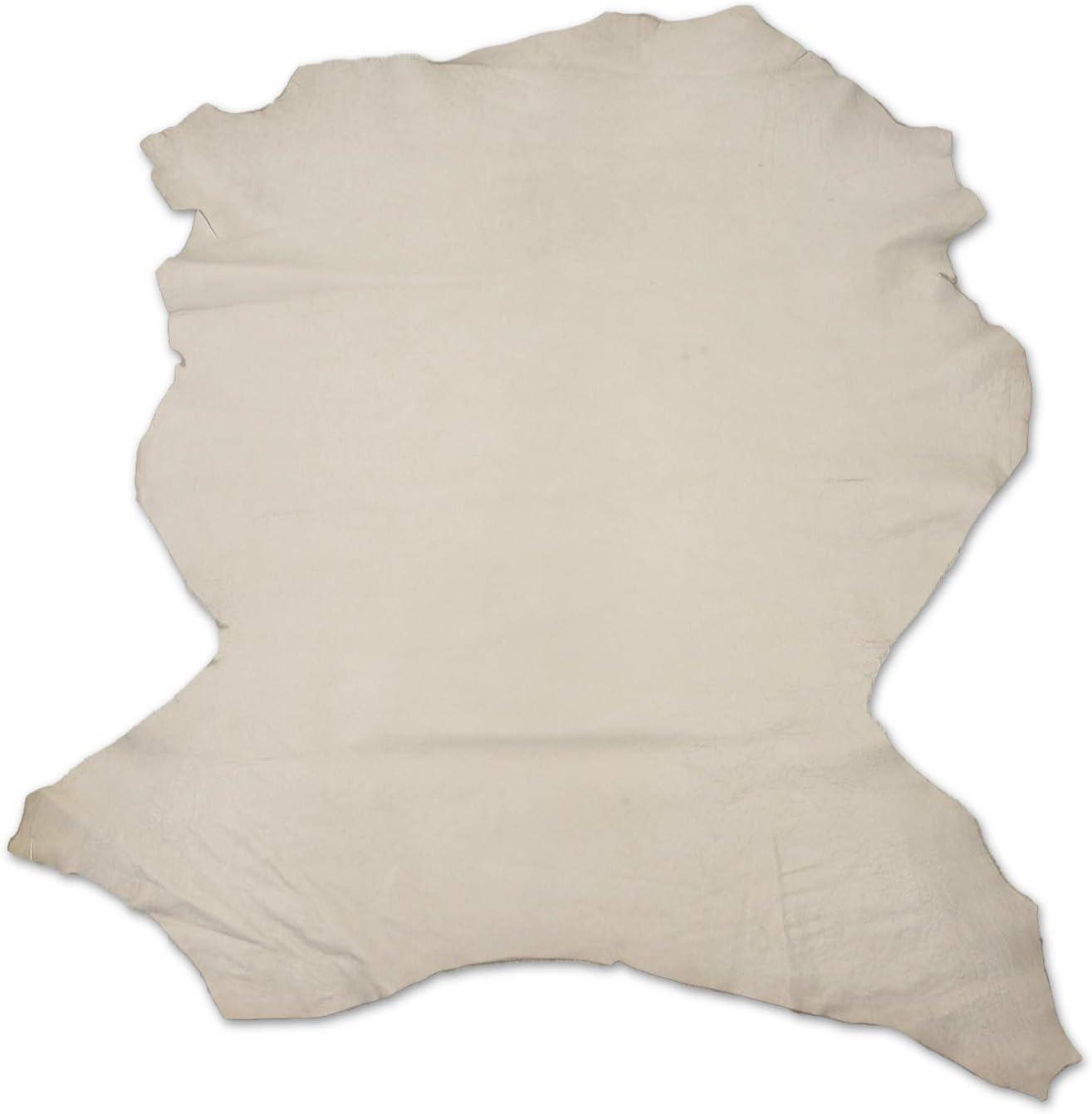 Zerimar Piel Cuero | Pieles Cuero Natural | Retales de Piel para Manualidades | Piel para Artesanos | Retal Cuero | Retales de Cuero | Color: camel | Medidas: 85x80 cm