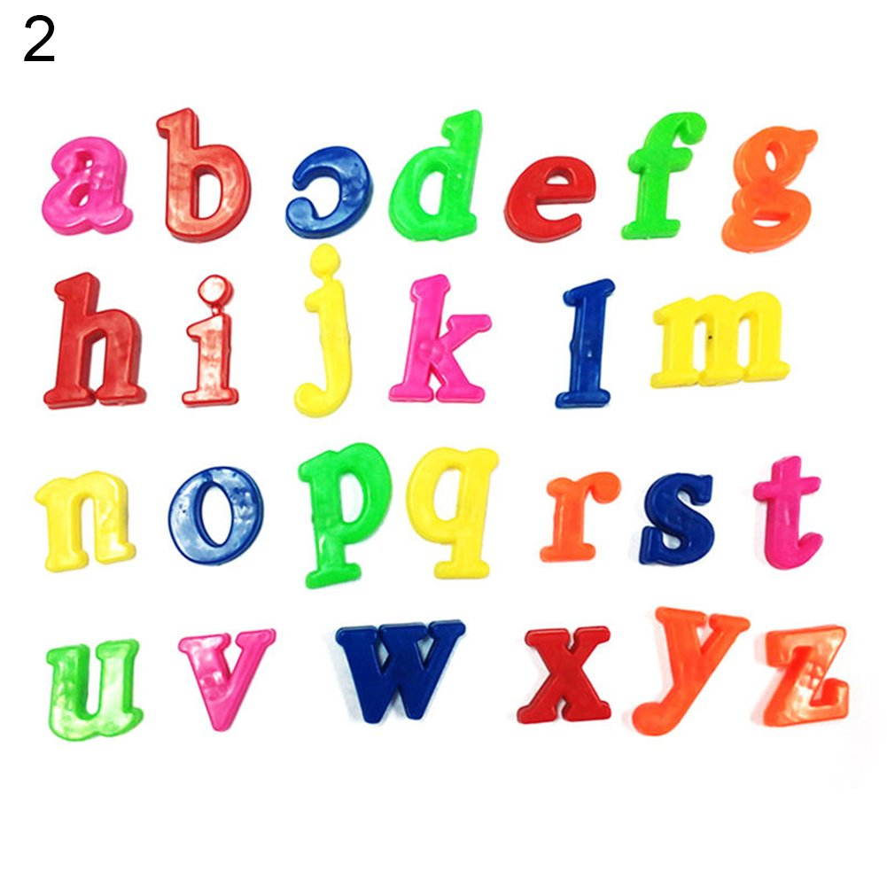 GREENLANS Magnetic Letters and Numbers for Educating Kids in Fun 26Pcs Lower//Upper Case Alphabet Letters Number Learning Toy Lower Letters Alphabet Refrigerator Fridge Magnets