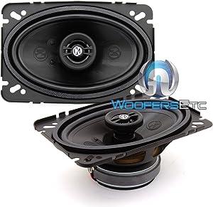 Memphis Audio 15PRX462 / 15-PRX462 / 15-PRX462 Power Reference 4 x 6 Full Range Speakers