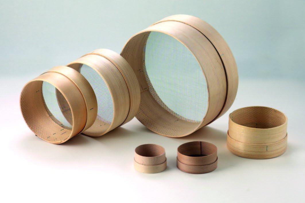 MAAJ/® MEHLSIEB MINI /Ø 8 cm aus Holz MADE IN ITALY