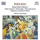 Poulenc: Piano Music Vol. 1 - Eight Nocturnes; Promenades; Three Intermezzi