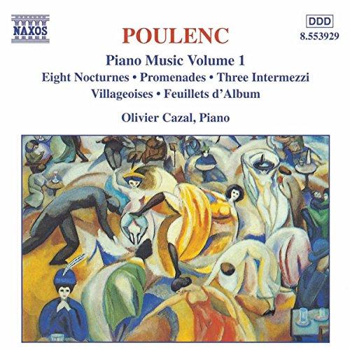 Poulenc: Piano Music Vol. 1 - Eight Nocturnes; Promenades; Three Intermezzi (Cazal Shop)