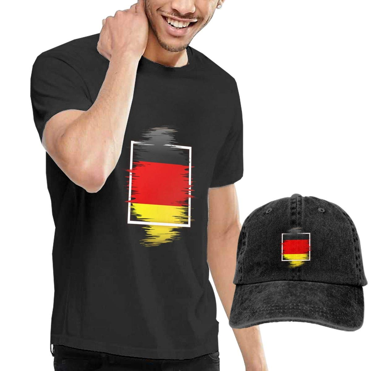 Flag Element Fashion Mens T-Shirt and Hats Youth /& Adult T-Shirts