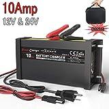 Amazon.com: Cargador de batería inteligente LST 12 V 2/4/8 A ...