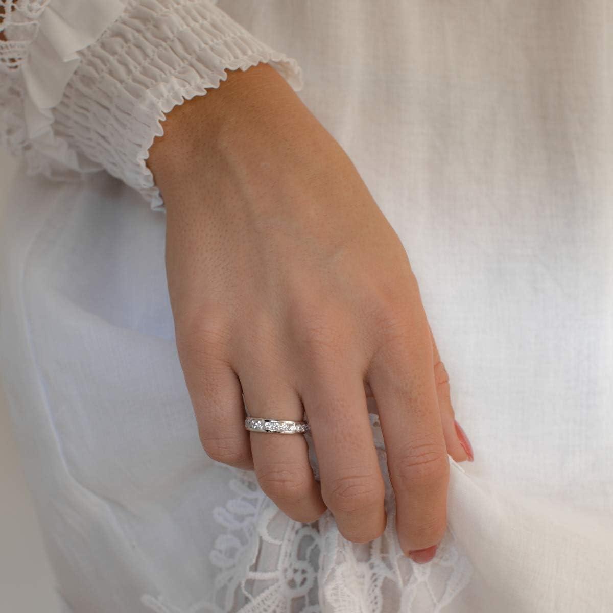 Tr/ésor 1934 Femme  Argent sterling 925  Argent|#Silver Balle   Blanc Zircon
