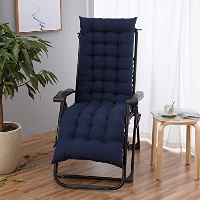 ch-AIR Rocking Chair Pad Thicken Outdoor Interiors Patio Rocking Chair Universal Seat Cushions Classic Lounge Chair Cushion with Ties Rocker Cushions Recliner Chair Cushions : Garden & Outdoor