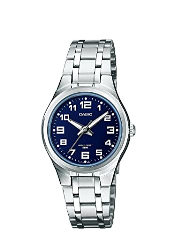 ff5b5b8f9718 Casio Reloj analógico para Mujer de Cuarzo con Correa en Acero Inoxidable  LTP-1310D-2BVEF  Amazon.es  Relojes