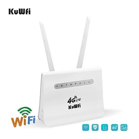Amazon.com: Enrutador WiFi móvil 4G LTE de hasta 300 Mbps ...