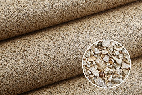 HANMERO Luxury Design Vermiculite Mica Stones Wallpaper Wall Covering for Home, Bedroom, Dining Rooms and Hotel Wall Art Wall Decoration - MC (300cm x 53cm) Modern Designer Wall Paper (Beige) by HANMERO (Image #7)